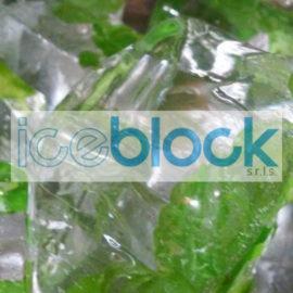Iceblock e il suo ghiaccio alla menta